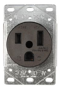 50 Amp Receptacle >> HandymanWire - Wiring outlet types