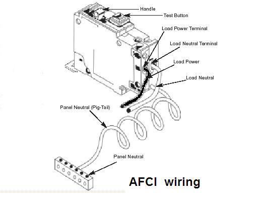 ground fault circuit interrupter wiring diagram  | handymanwire.com