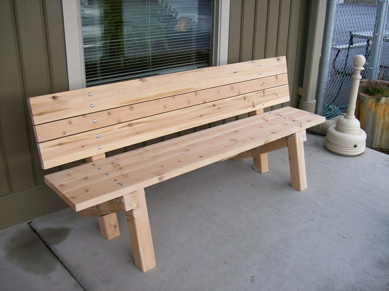 garden bench plans metric diywoodplans